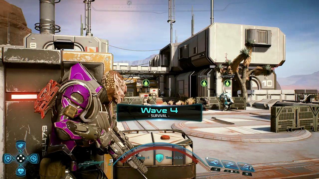 Mass Effect Andromeda: nuova video-dimostrazione sul multiplayer