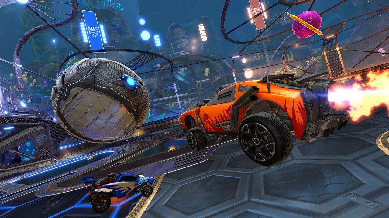 Rocket League: l'update gratuito Dropshot si presenta in foto e video