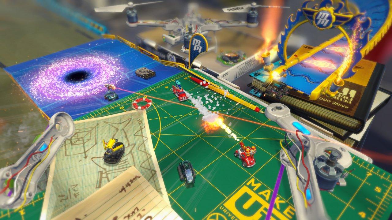 Micro Machines World Series: immagini e video sulle Battaglie multiplayer