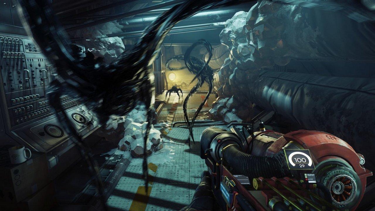 Prey: la varietà delle ambientazioni e degli alieni Typhon in nuove immagini