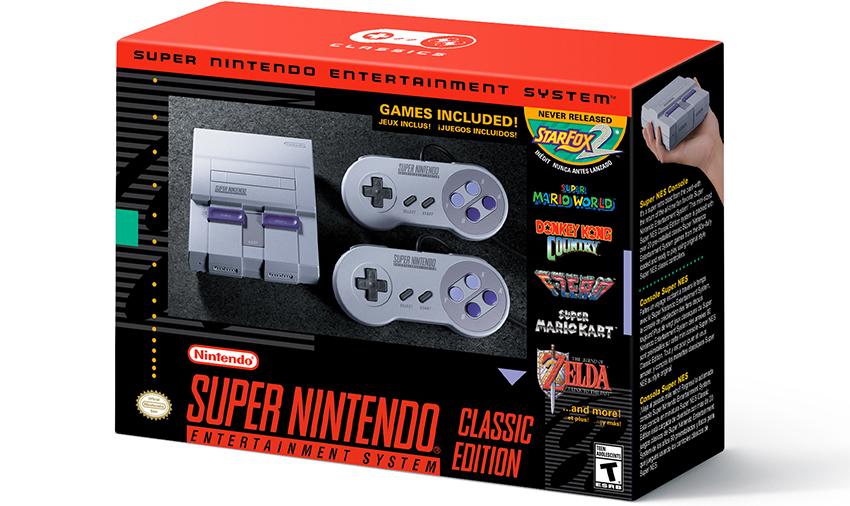 Nintendo annuncia SNES Classic: ecco tutti i dettagli