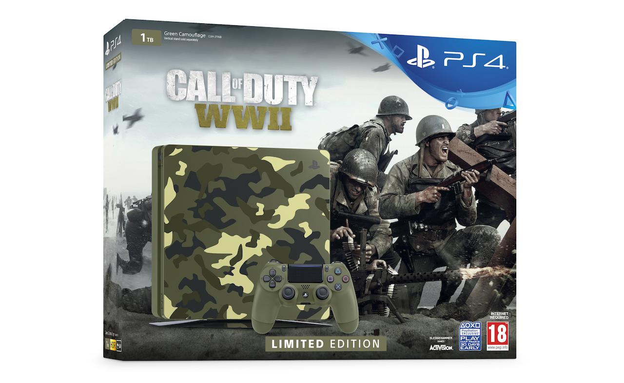 PlayStation 4, Sony svela l'edizione limitata con Call of Duty: WWII