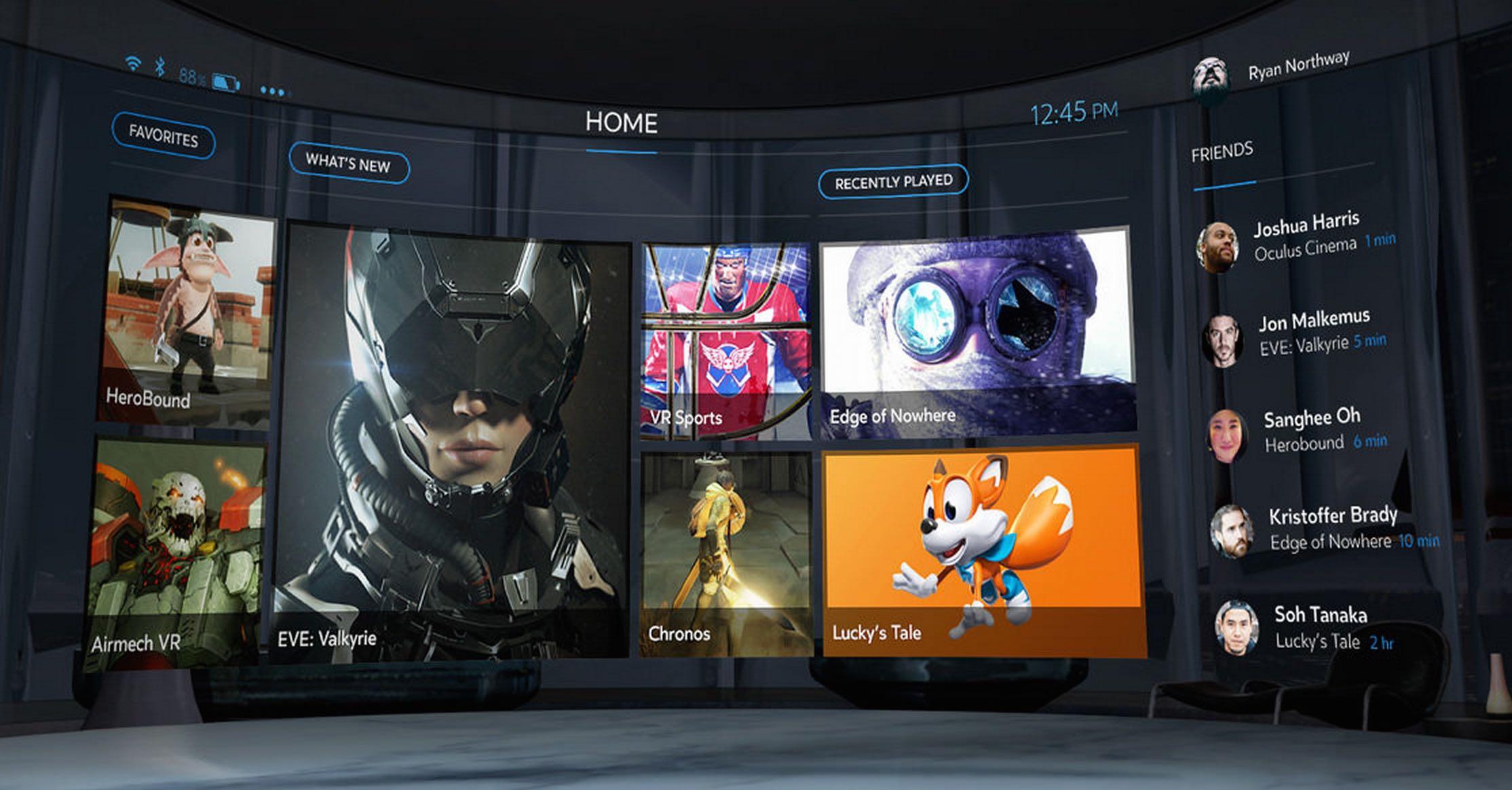 Oculus offre il rimborso per i giochi acquistati