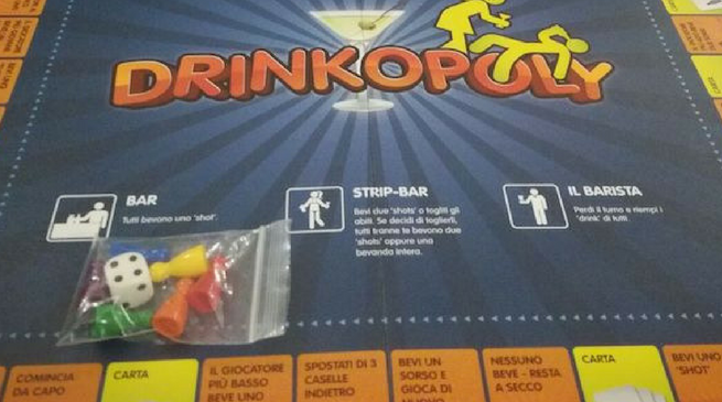 Drinkopoly: il party game per Natale 2017