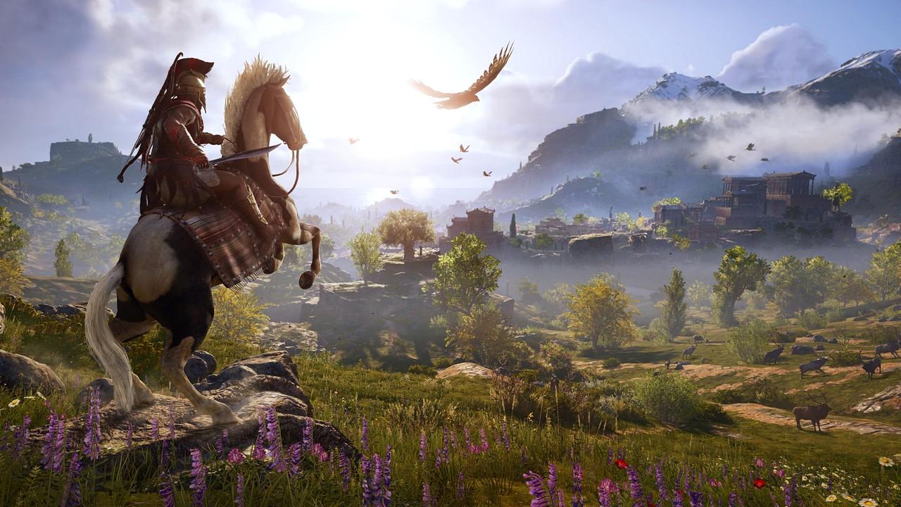 Assassin's Creed Odyssey: l'Antica Grecia di Ubisoft nel video gameplay dell'E3 2018