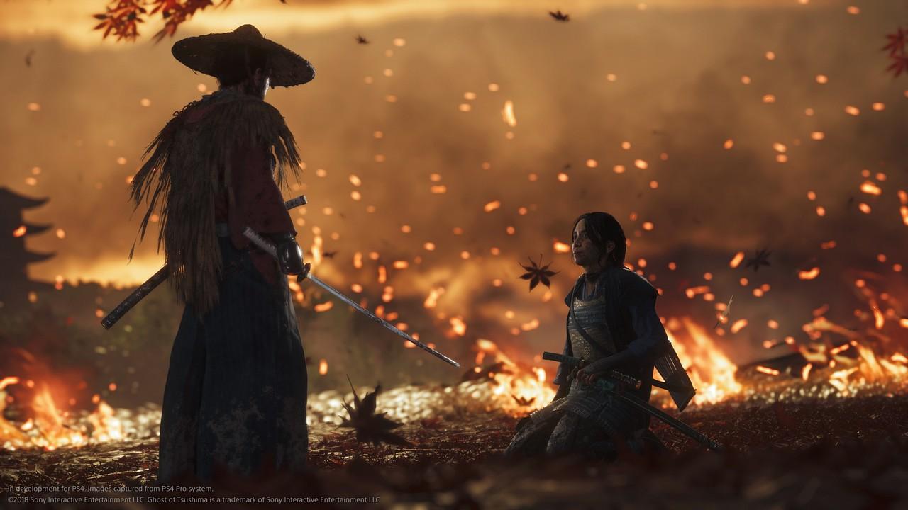 Ghost of Tsushima: ecco le immagini e il video gameplay dell'E3 2018