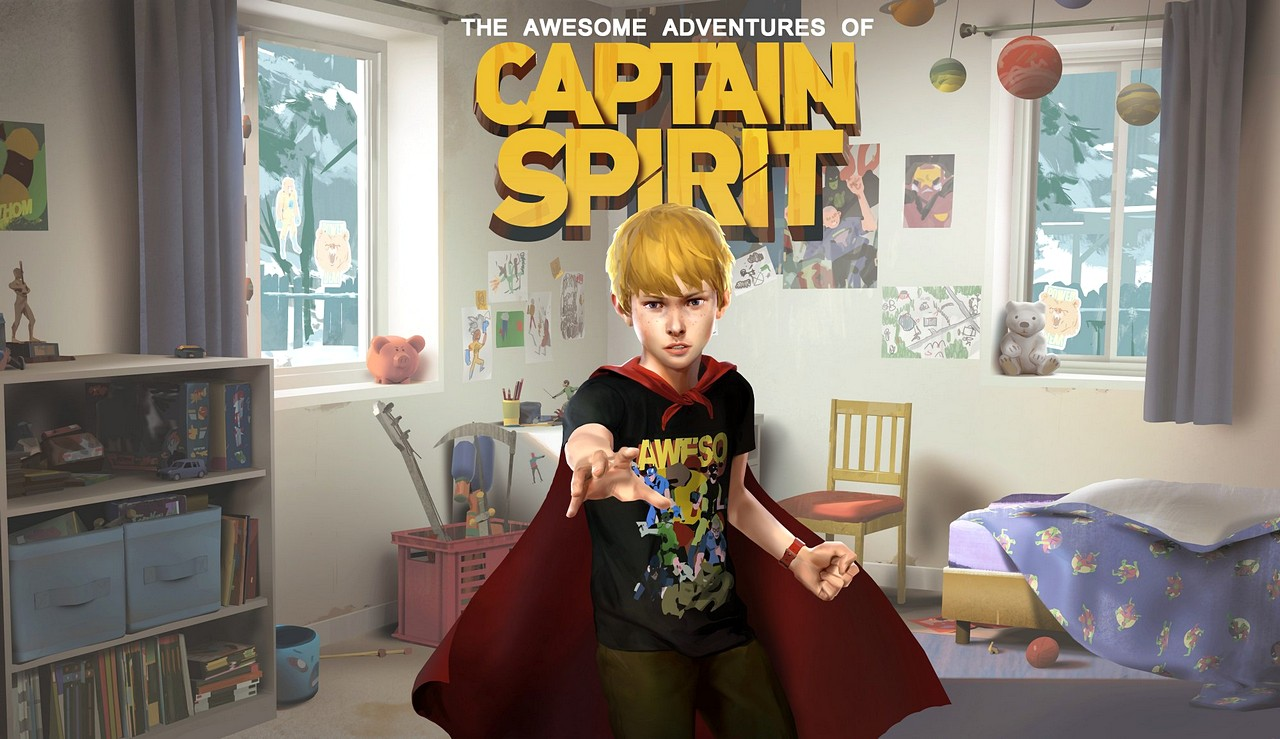 The Awesome Adventures of Captain Spirit esce oggi su PC, Xbox One e PS4