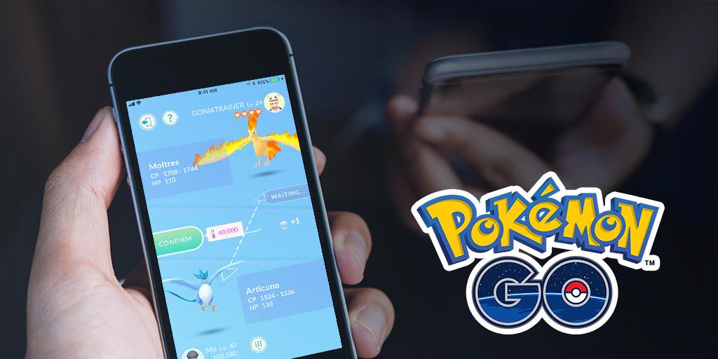 Pokémon Go, arrivano gli Scambi