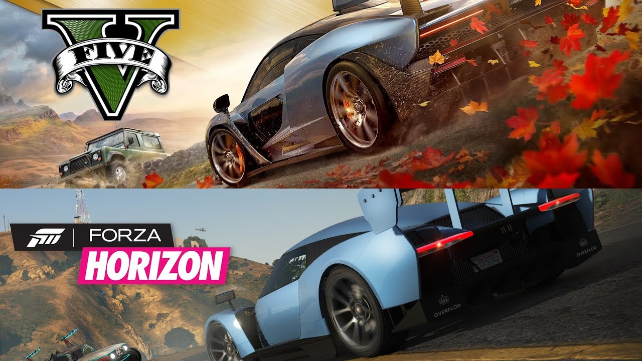 Il trailer di Forza Horizon 4 ricreato in GTA 5