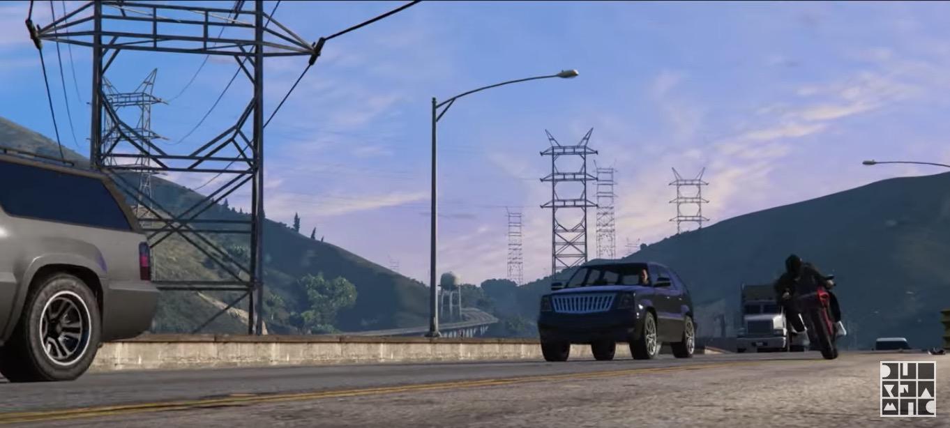 GTA 5, un video musicale ufficiale creato in-game