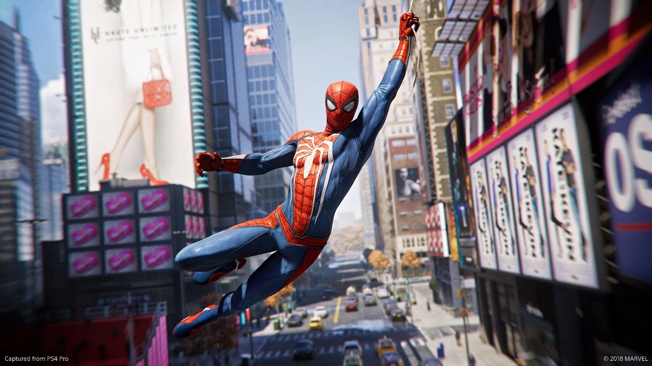 Marvel's Spider-Man volteggia tra i grattacieli di New York in un nuovo trailer di gioco