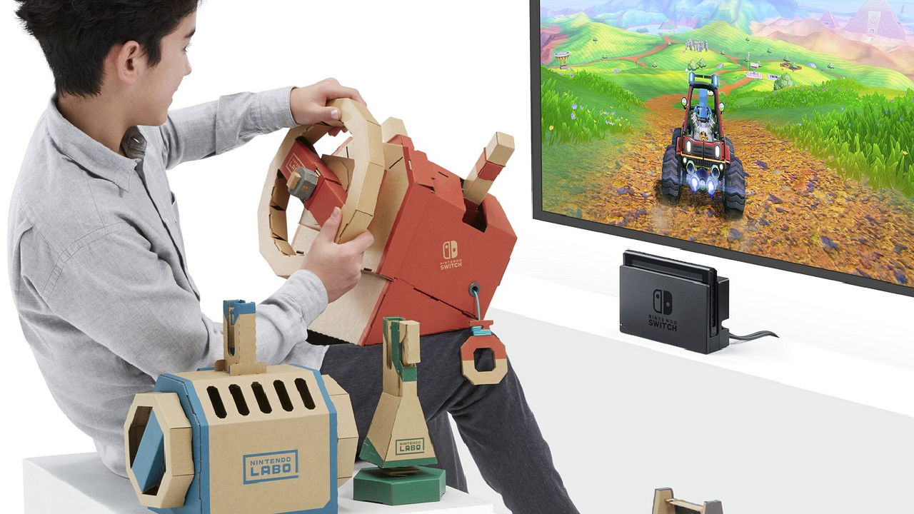 Nintendo Labo: annunciato il terzo Toy-Con, il Kit Veicoli