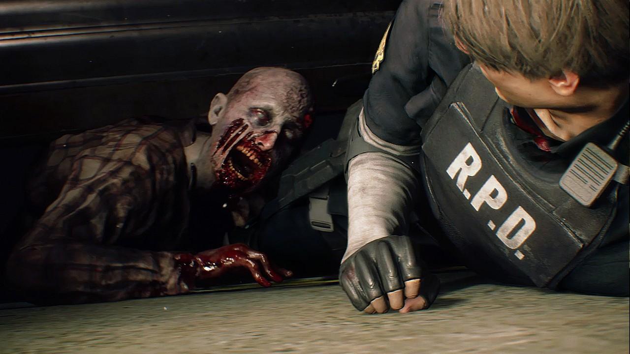 Resident Evil 2: nuovo video pieno di zombie