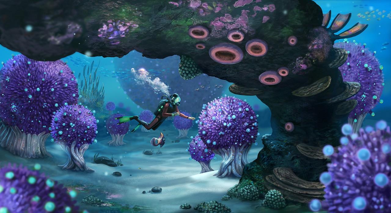 Subnautica si tuffa su PS4