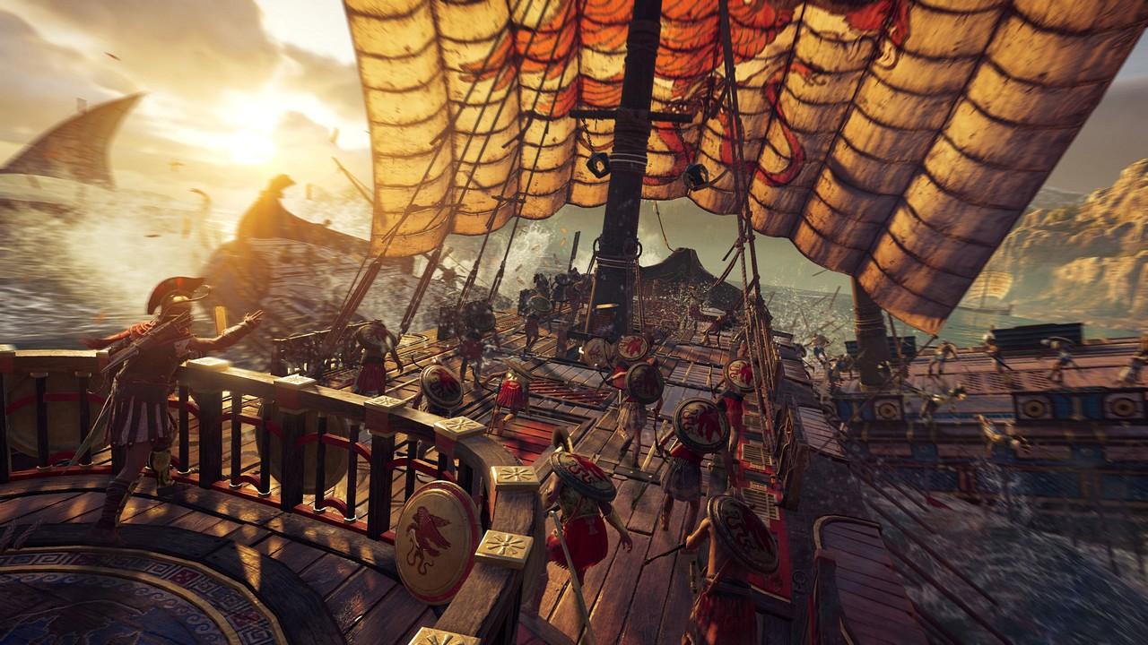 Assassin's Creed Odyssey: combattimenti navali ed esplorazione subacquea nel nuovo video-diario