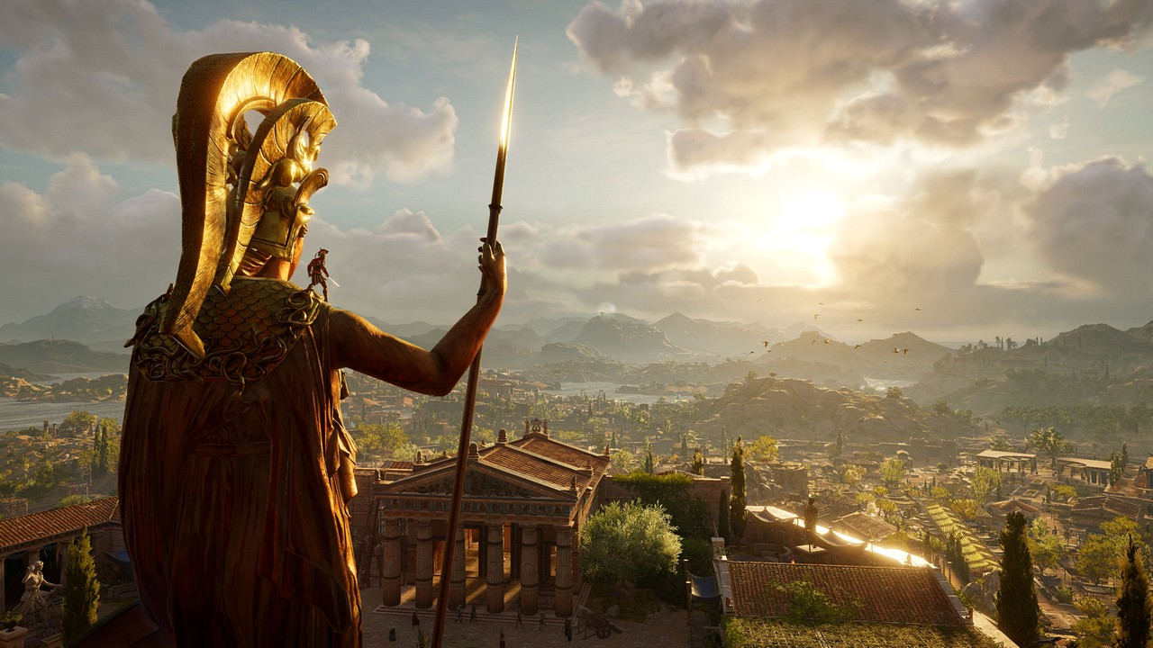 Assassin's Creed Odyssey, nuovo video gameplay con Alexios e Ippocrate