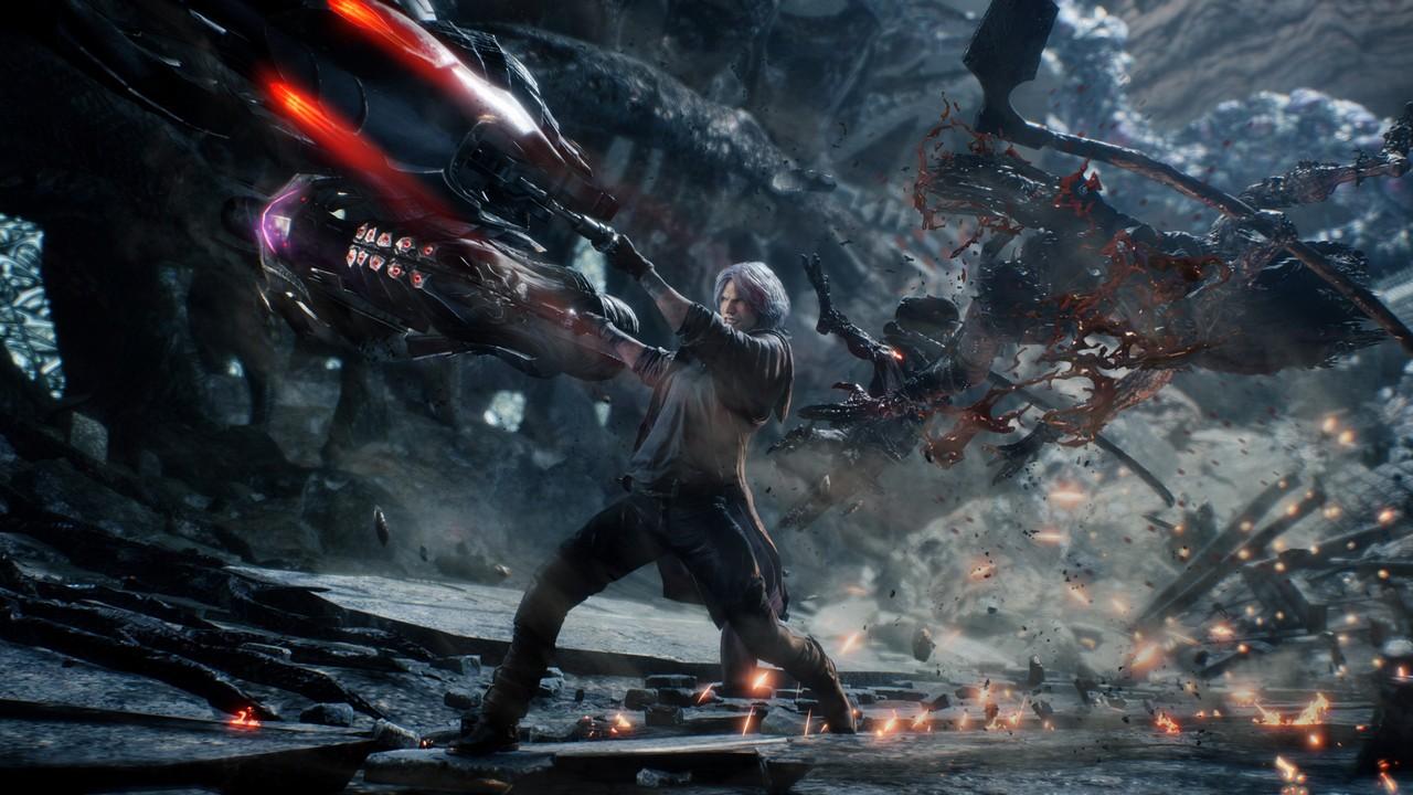Devil May Cry 5: il video della Gamescom svela le armi di Nero