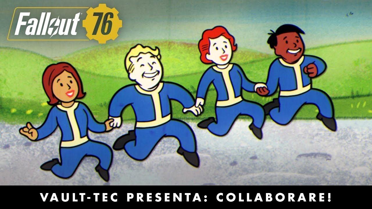 Fallout 76: nuovo video incentrato sulla cooperativa online