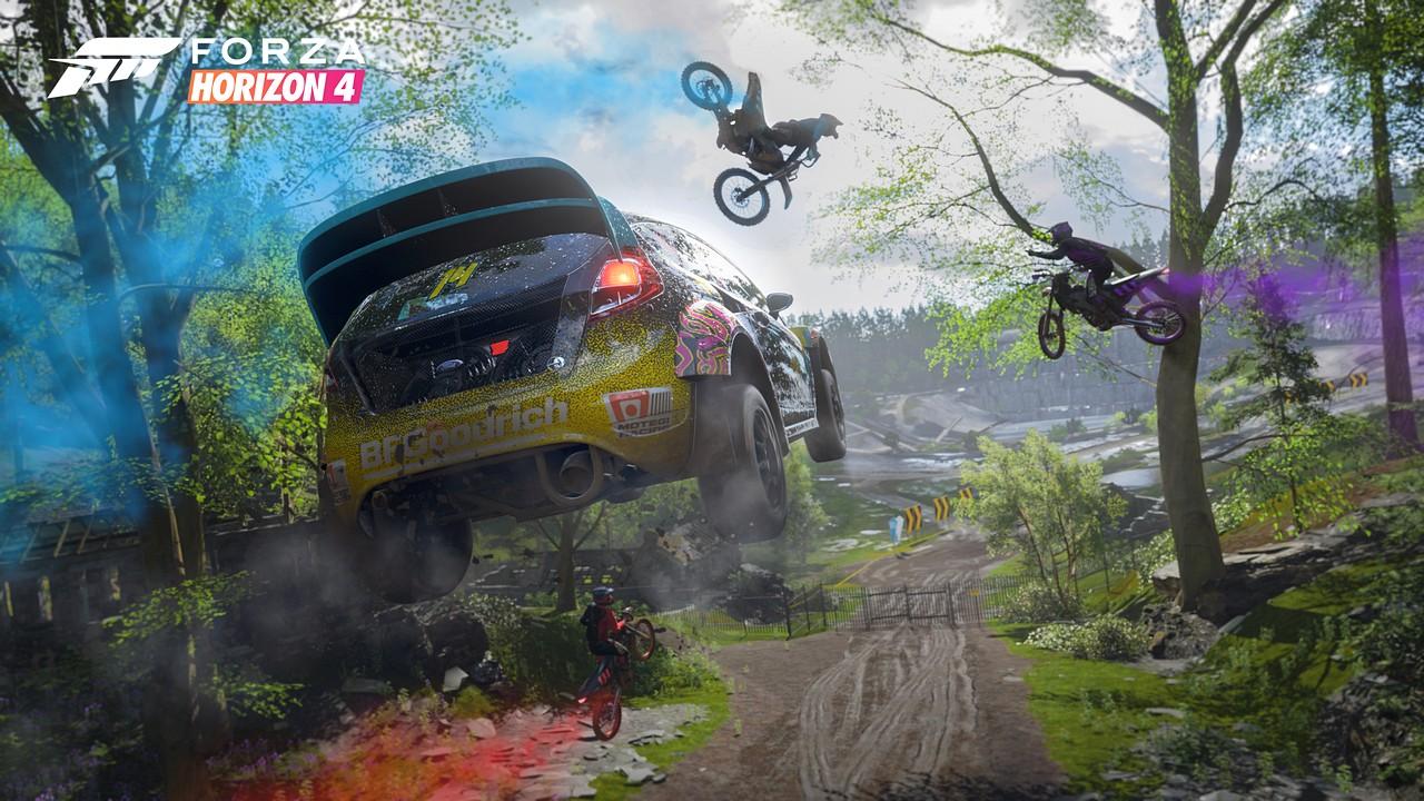 Forza Horizon 4: il trailer della Gamescom si focalizza sull'esperienza multiplayer
