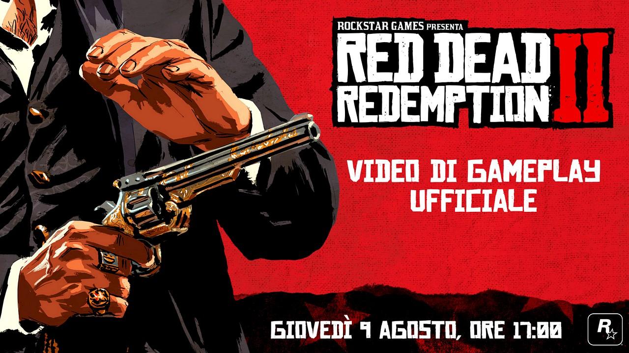 """Red Dead Redemption 2: domani esce il primo, """"vero"""" video di gioco"""
