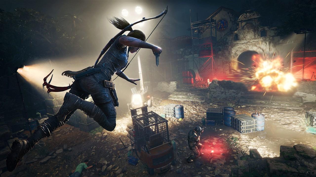 Shadow of the Tomb Raider: nuovo video sulle tattiche di combattimento stealth