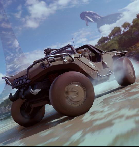 Forza Horizon 4, una missione a tema Halo?