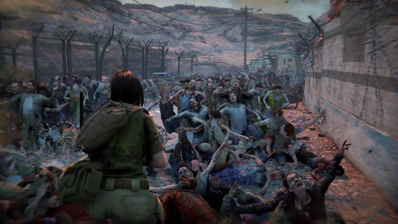 World War Z: il video della Gamescom mostra l'orda di zombie