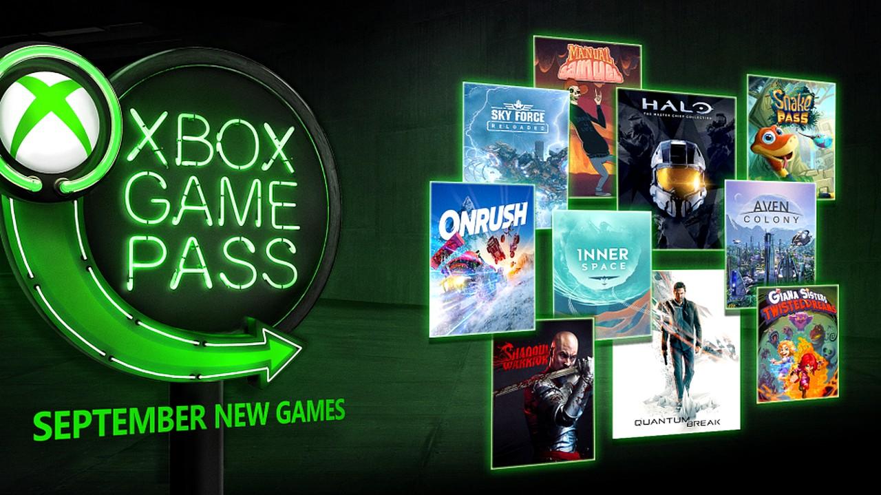 Xbox Game Pass: Halo Master Chief Collection e Quantum Break tra i giochi gratis di settembre