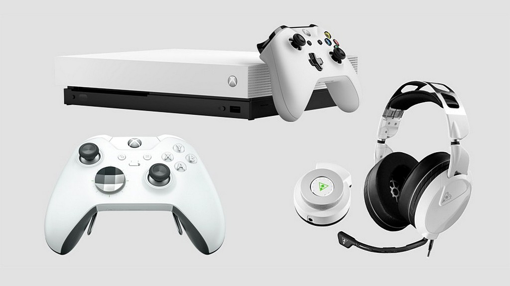 Xbox One X e il Controller Elite in colorazione bianca annunciati da Microsoft