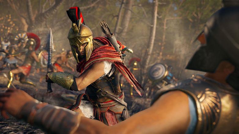 Assassin's Creed Odyssey si mostra nel trailer di lancio