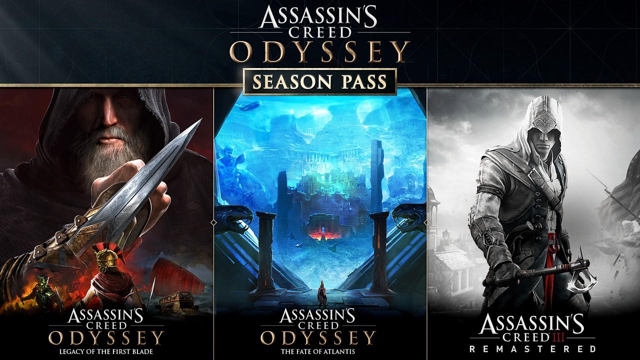 Assassin's Creed Odyssey: Ubisoft svela i contenuti del Season Pass e il programma post-lancio