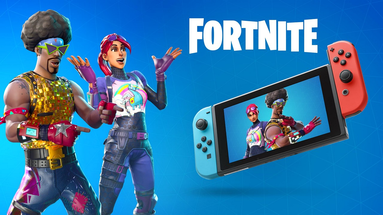 Fortnite: nessun abbonamento per giocare su Nintendo Switch