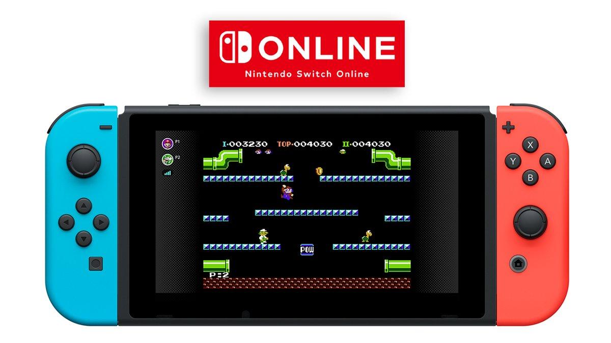 L'originale Mario Bros. su Nintendo Switch con online co-op
