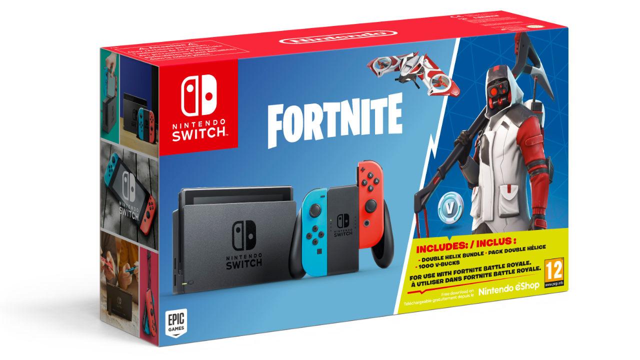 Nintendo Switch: svelato il nuovo bundle con Fortnite