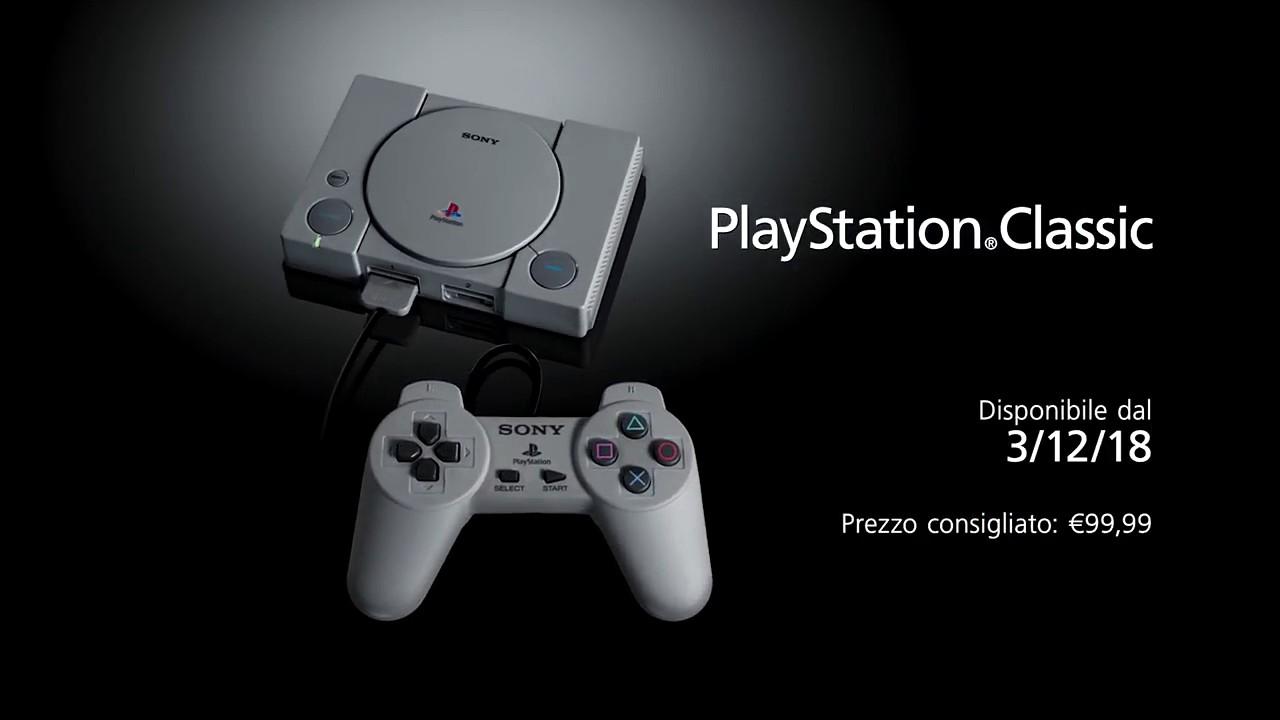 PlayStation Classic annunciata ufficialmente: ecco data di uscita e prezzo