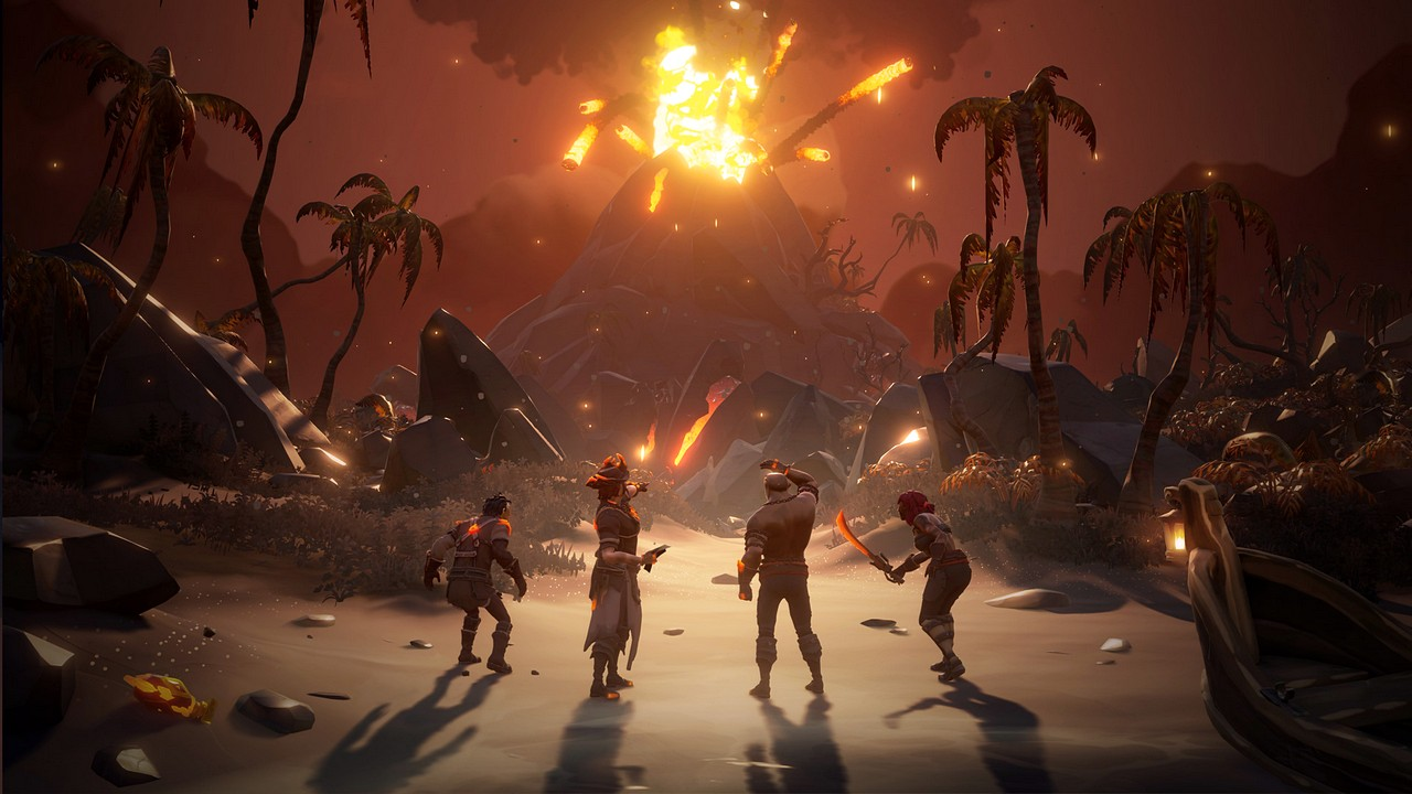 Sea of Thieves: Forsaken Shores si mostra in foto e video