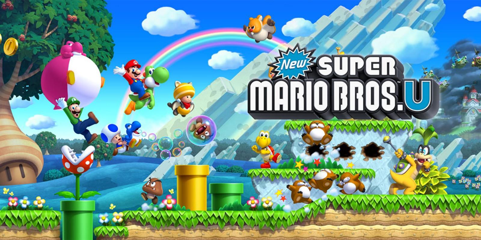 New Super Mario Bros. U Deluxe arriva su Nintendo Switch