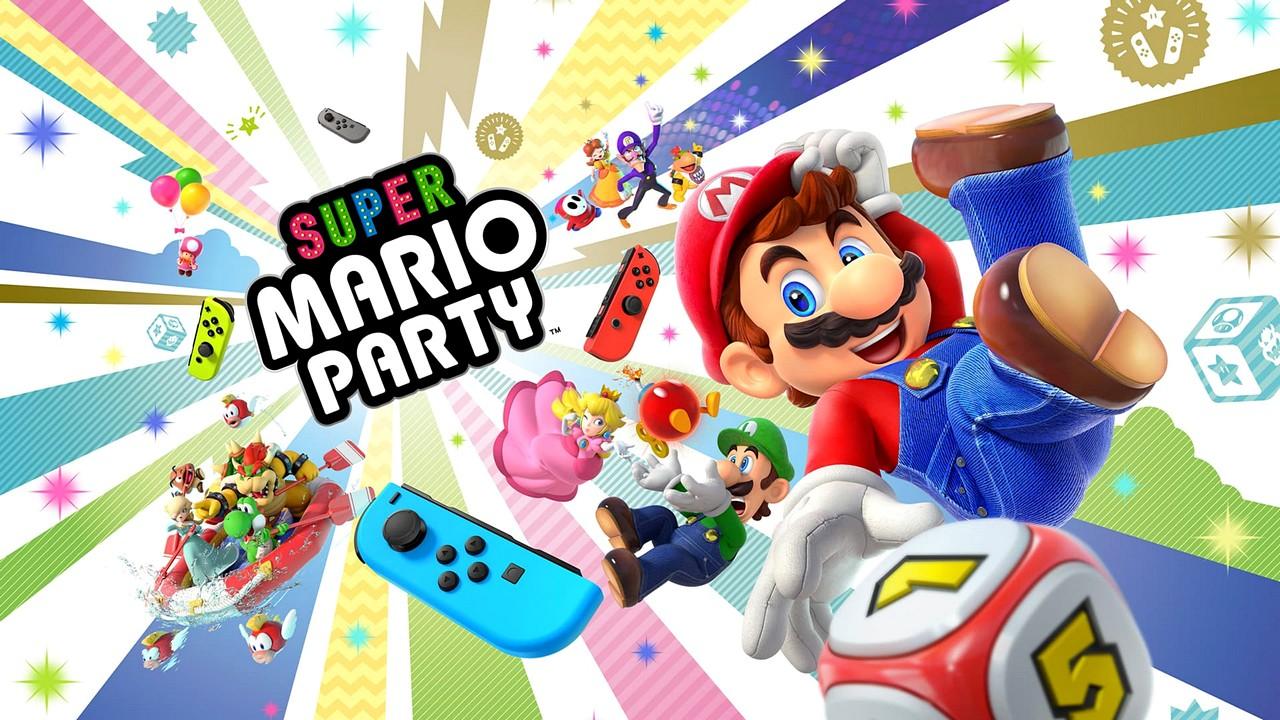 Super Mario Party: il trailer di lancio ci mostra la varietà dei minigiochi