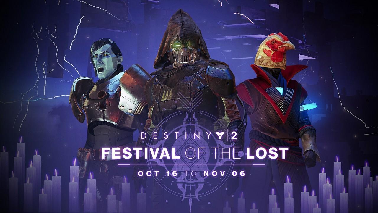 Destiny 2: I Rinnegati – al via la Festa delle Anime Perdute e lo Stendardo di Ferro