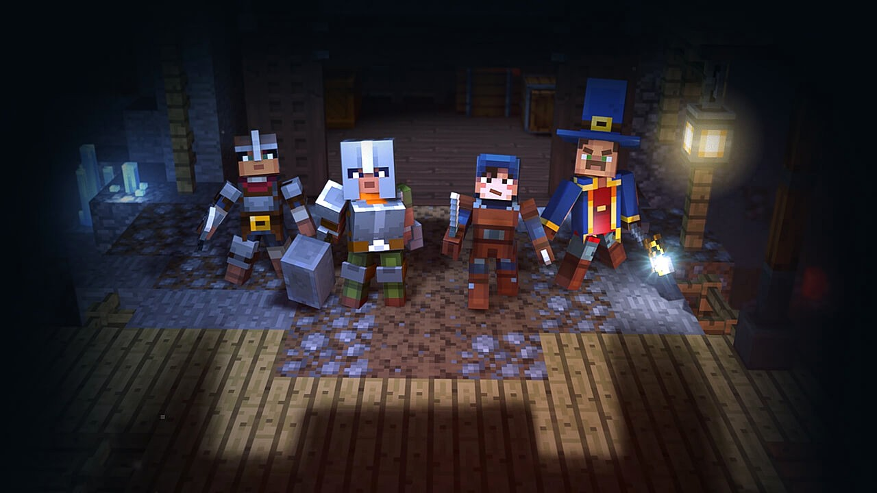 Minecraft: Dungeons annunciato ufficialmente – guarda il primo trailer