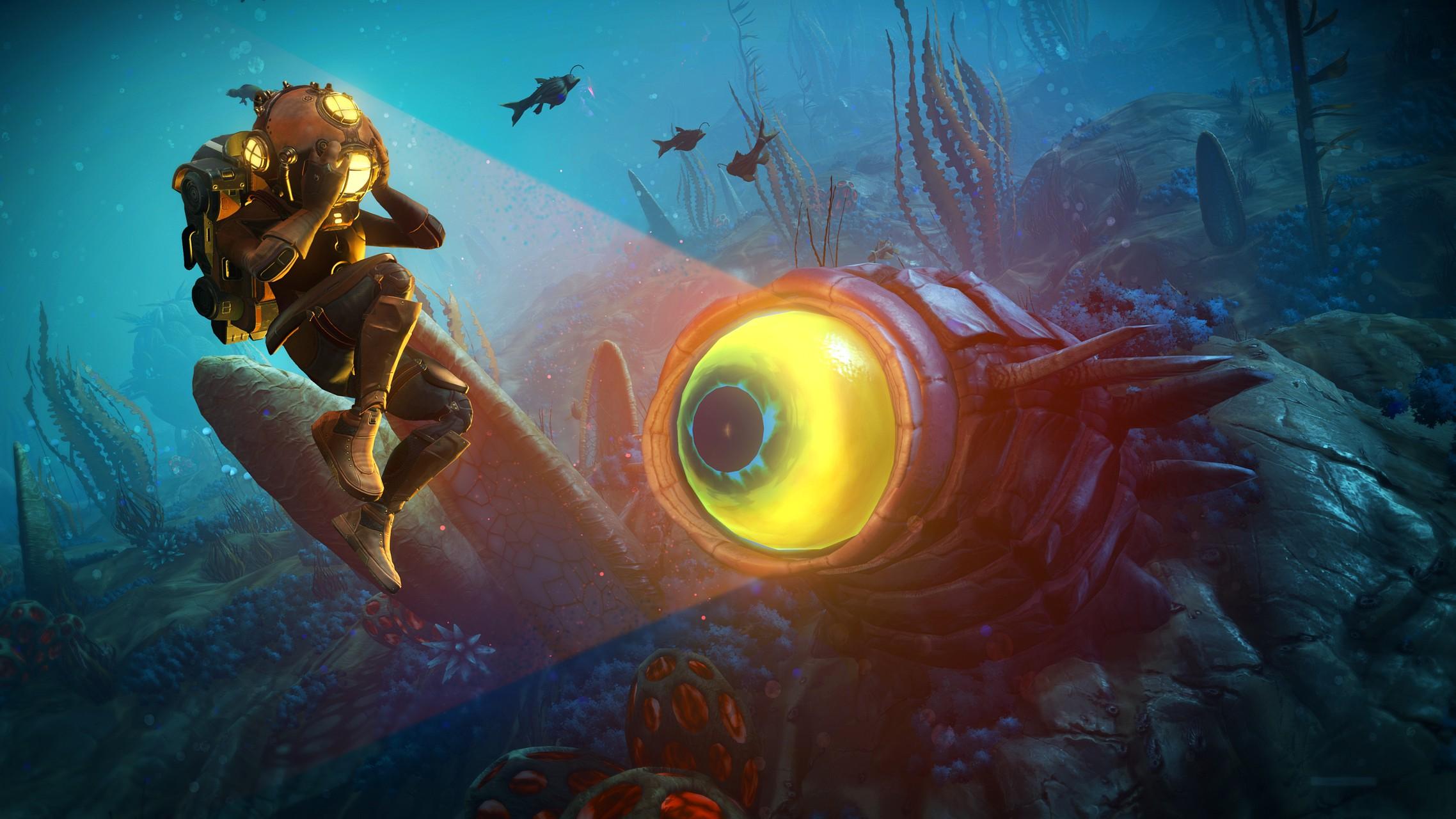 No Man's Sky: l'update gratuito The Abyss si presenta in immagini e video