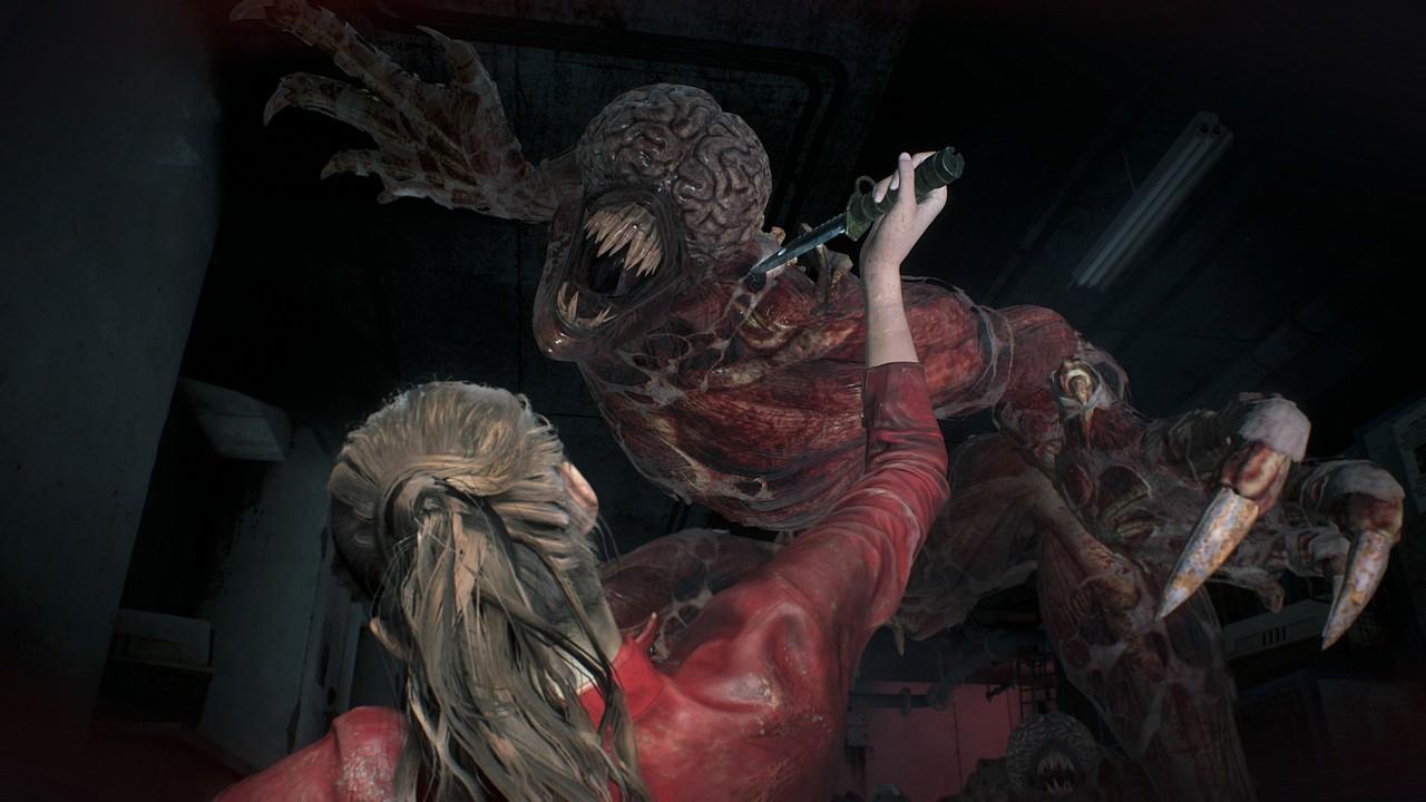 Resident Evil 2: Claire danza con uno zombie Licker in immagini e video