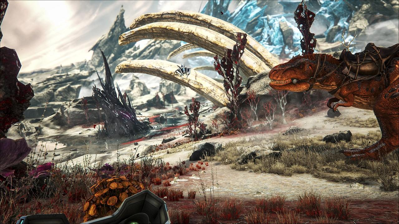 ARK: Survival Evolved – l'espansione Extinction si lancia in foto e video