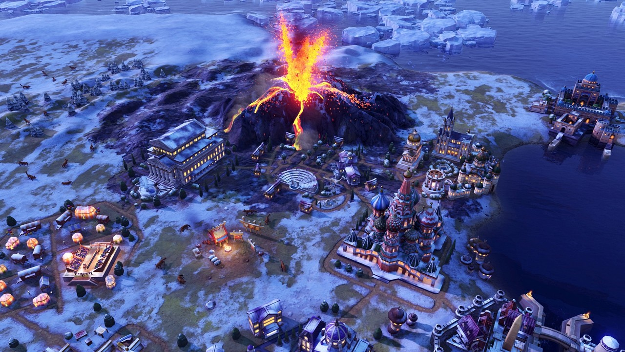 Civilization VI: l'espansione Gathering Storm si presenta in foto e video