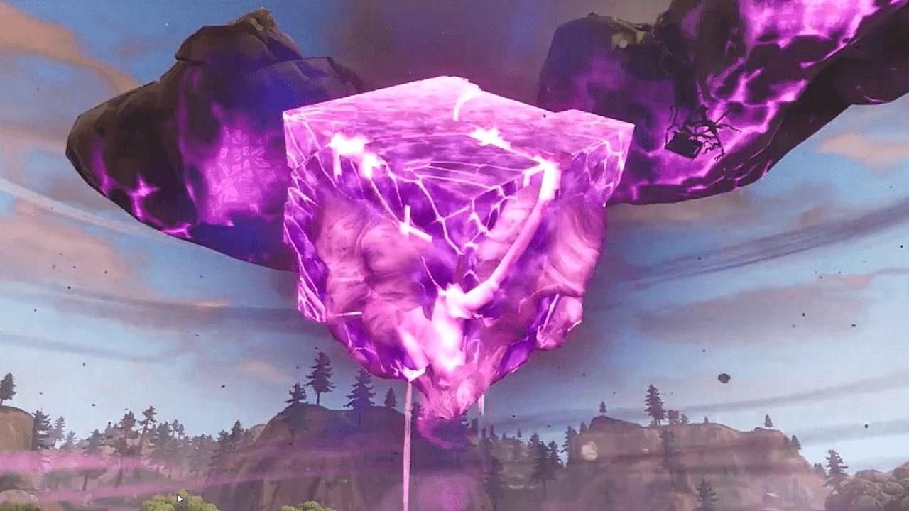 Fortnite: record di visualizzazioni per l'esplosione del Cubo Viola