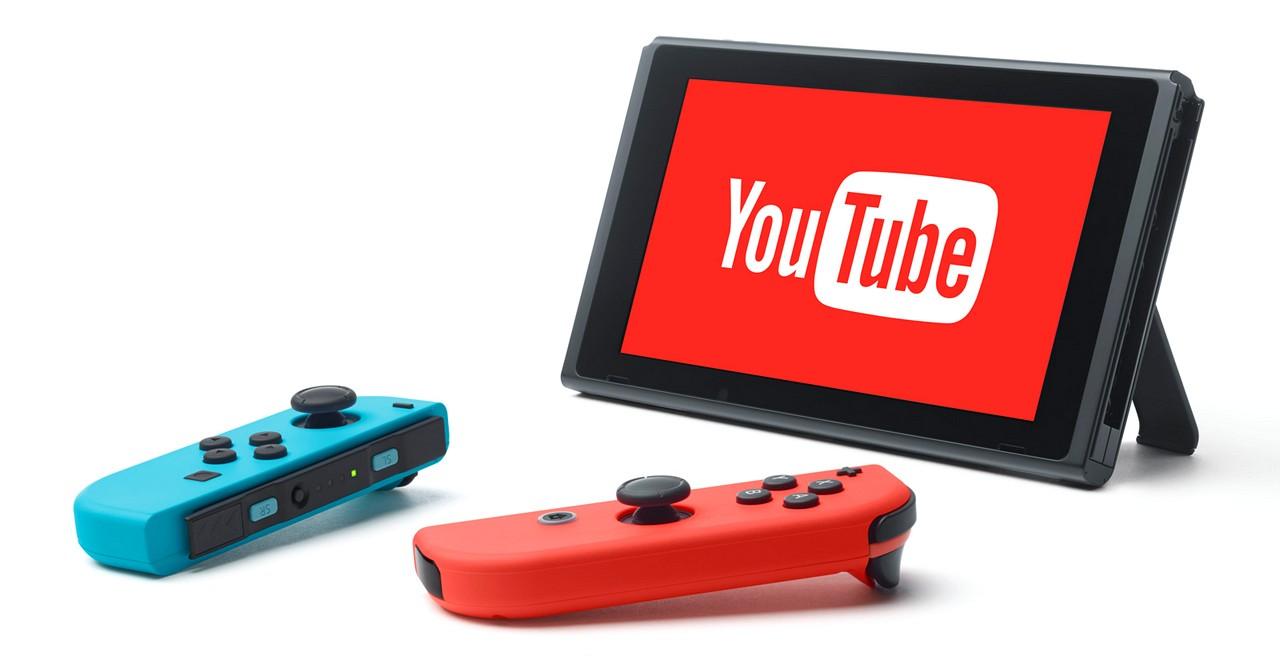 Nintendo Switch: presto disponibile l'applicazione di YouTube?