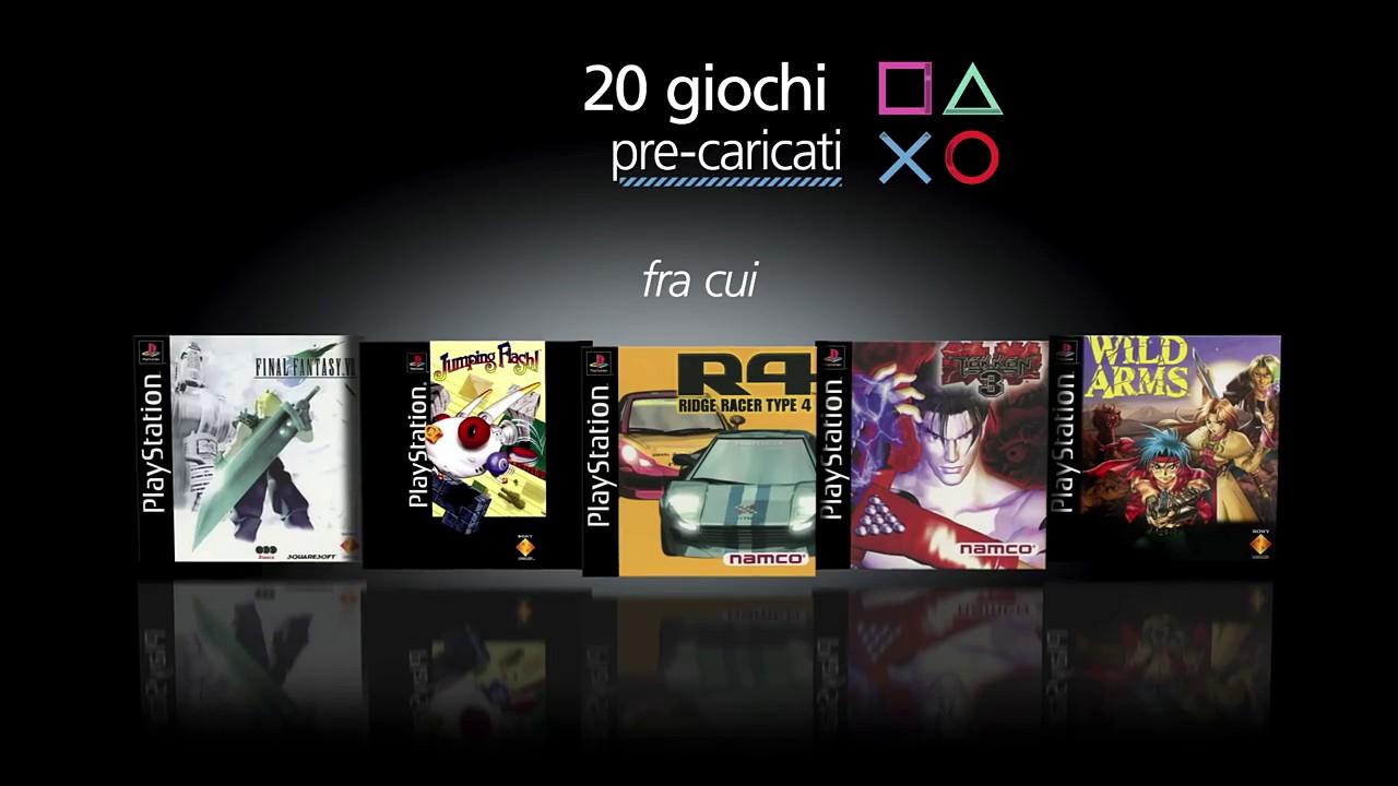 PlayStation Classic: video unboxing e nuove informazioni da Sony