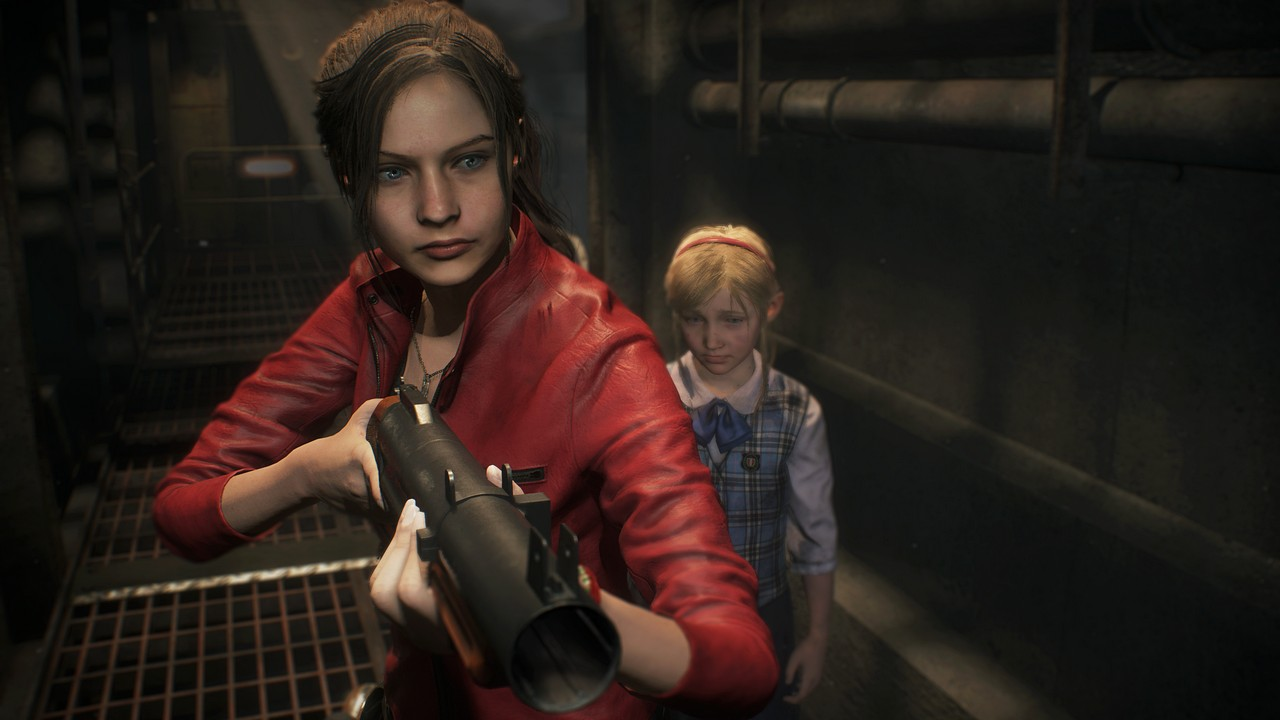 Resident Evil 2 Remake: nuovo gameplay trailer con Claire Redfield