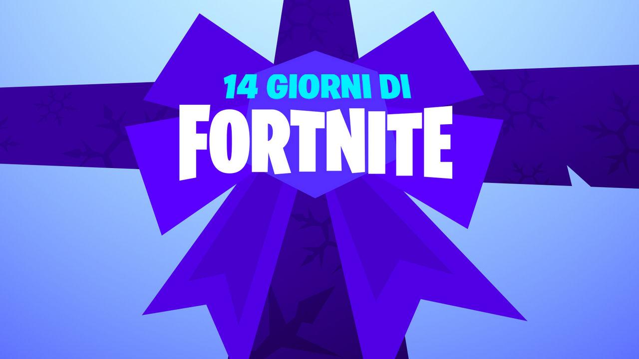 """Fortnite: comincia l'evento natalizio """"14 Giorni di Fortnite"""""""