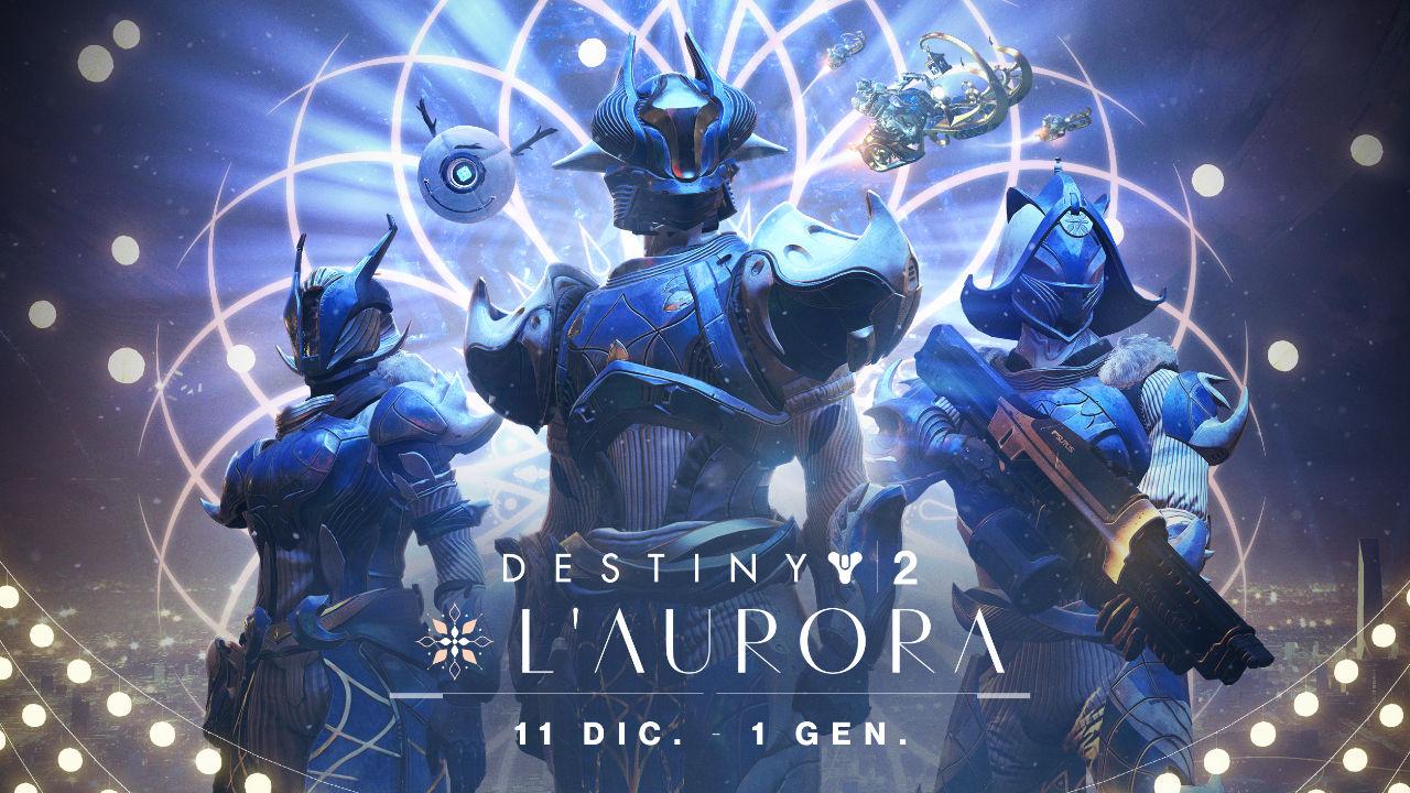 Destiny 2: al via l'evento invernale dell'Aurora